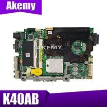 XinKaidi K40AB carte mère Dordinateur Portable pour ASUS K40AB K40AD K40AF K50AB K50AD K50AF K40IJ K5IJ K40 K50 Test carte mère dorigine