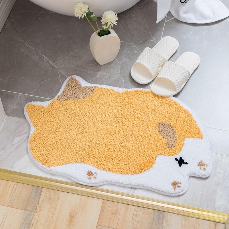 الكرتون الحيوان دخول الحصير الأطفال المنزل حصائر عالية الجودة توضع أمام مدخل المنزل ماصة المرحاض السجاد الحمام عدم الانزلاق الحصير