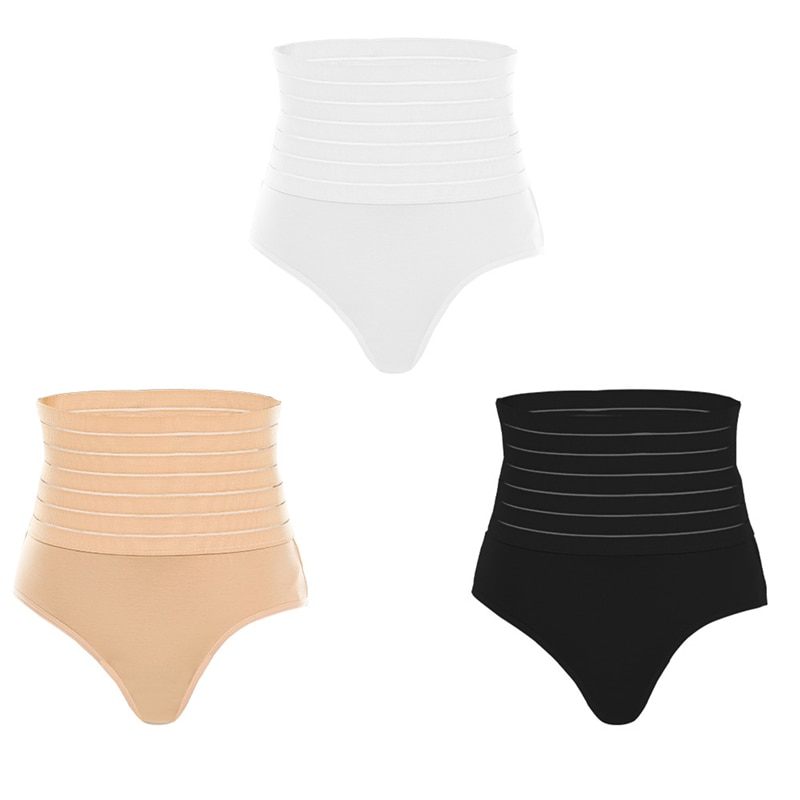 Women Shaping Panties High Waist Breathable Body Shaper Slimming Tummy Underwear Female Seamless Shapewear New