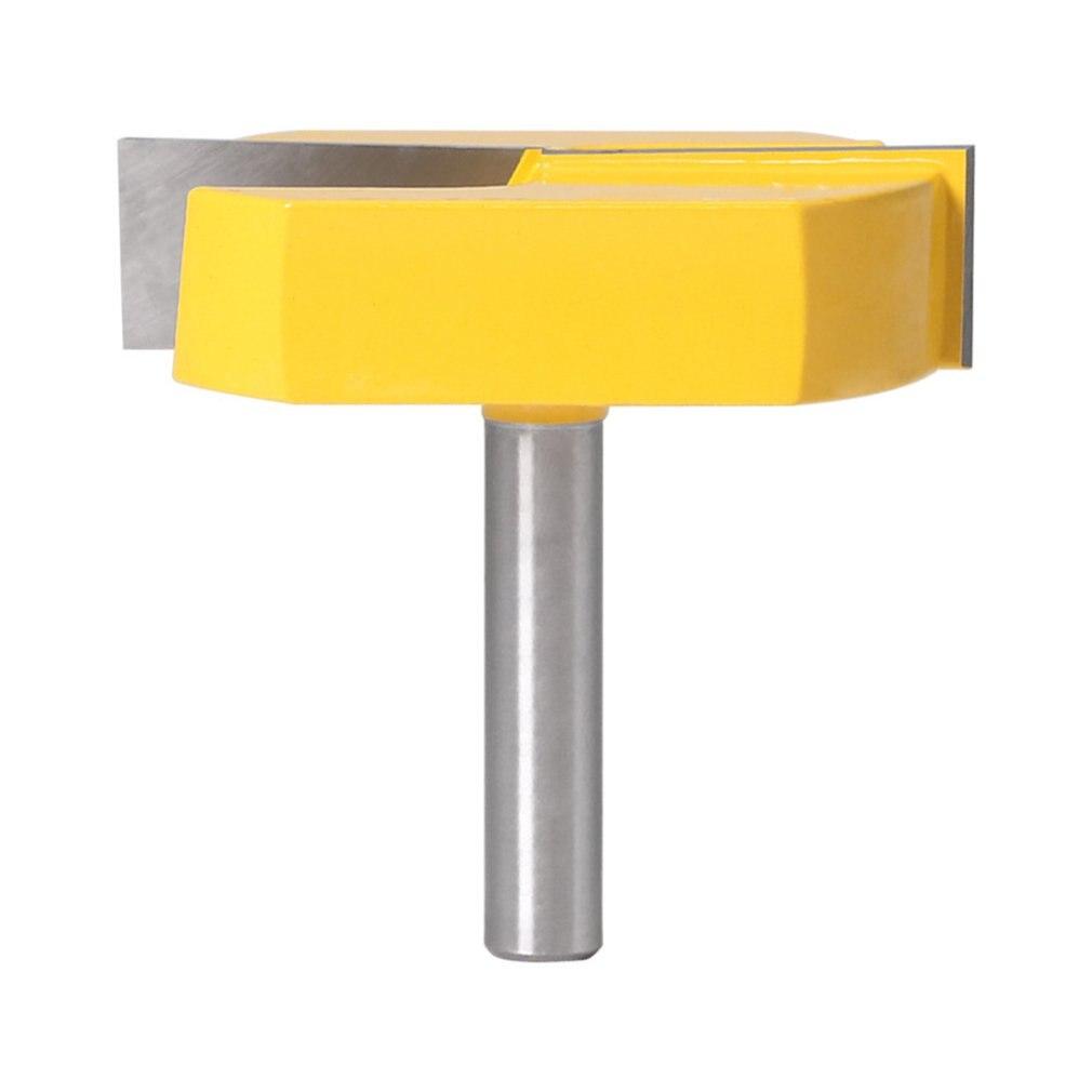 Fresa de limpieza con mango de 8 Mm, diámetro de corte inferior para enrutador de superficie, fresa de corte, cortador de madera