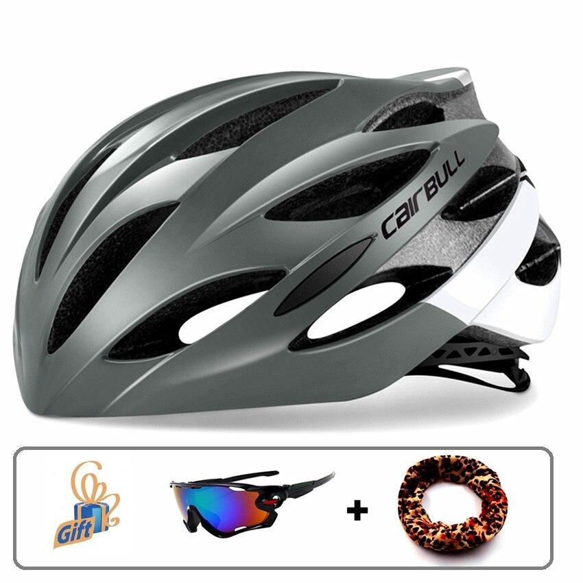 Горячая Распродажа CAIRBULL ультралегкие велосипедные шлемы Удобные MTB дорожный велосипедный дышащий гоночный велосипедный шлем TT Casco Ciclismo