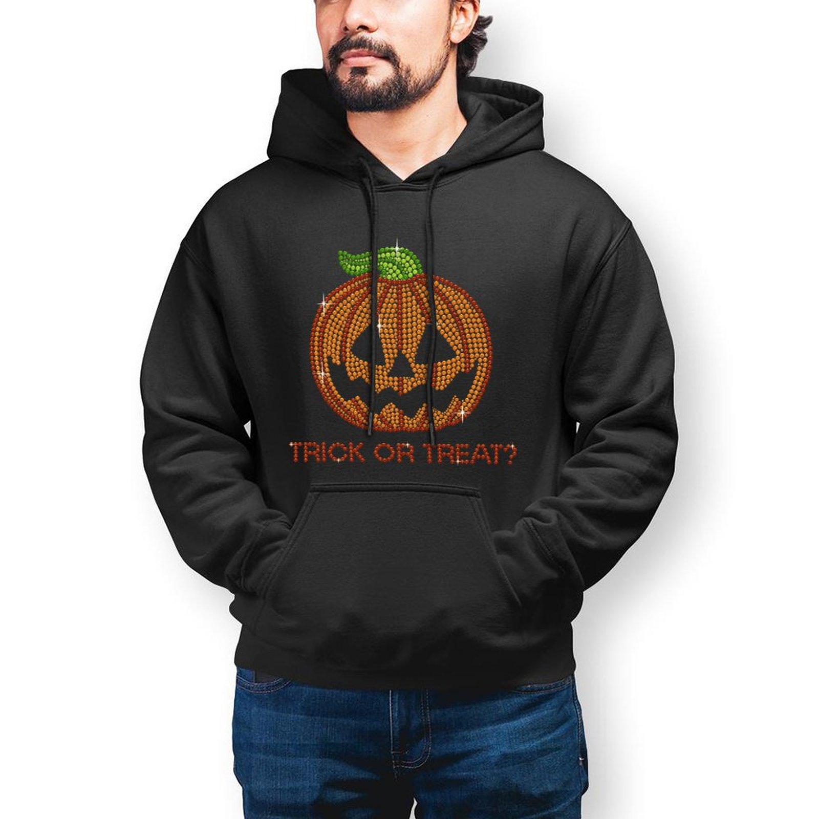 Хэллоуин, мужские теплые толстовки с длинным рукавом