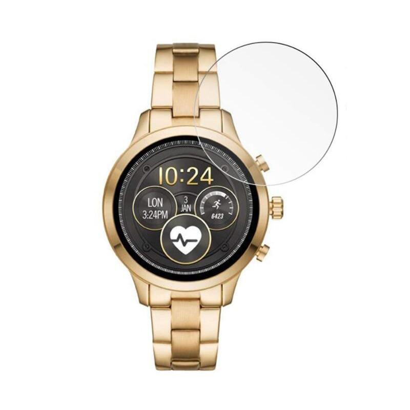 Защитная пленка из закаленного стекла для Майкла Корса для подиума 2018 Часы Smartwatch защита экрана Защита Крышки