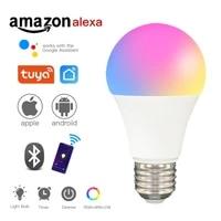 Ampoule LED intelligente wi-fi E27  lumiere changeante au neon  Siri  commande vocale  Alexa Google Assistant  100W  eclairage domestique equivalent