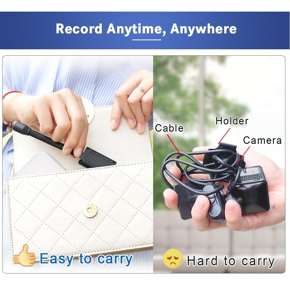 HDWiFiCamPro Mini Wifi Nanny Camera AI Human Detection IP/AP Camera Cloud Storage Real Time Monitoring Camera Max 128G 7x24 hour enlarge