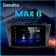 """Dasaita 9 """"coche Multimidia Android 9,0 para Suzuki Swift 2011, 2012, 2013, 2014, 2015 Bluetooth 1080p Video estéreo de coche MAX6"""