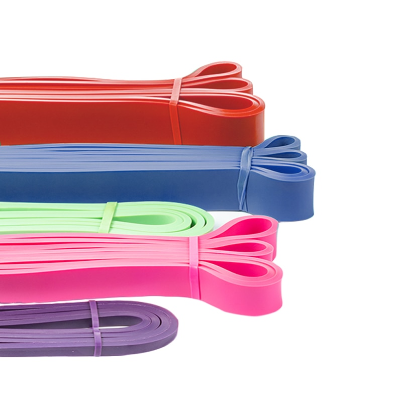 210cm de borracha loop elástico resistência bandas yoga látex exercício banda treino para ginásio equipamentos fitness treinamento expansor