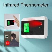 Thermomètre infrarouge sans contact de livraison rapide mesurant la main et le front avec le capteur de température de pistolet Laser dalarme de fièvre