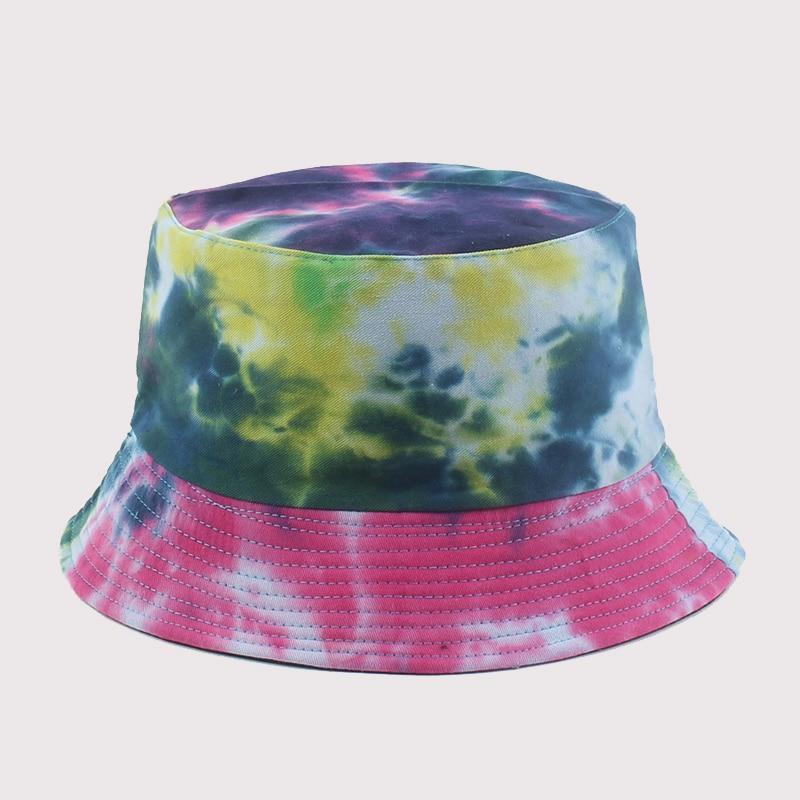Панама для взрослых, рыбацкая шляпа, двусторонняя рыболовная шляпа, красочные граффити, кепки для Боба в стиле хип-хоп, мужские и женские шля...