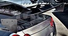 Aile GT en Fiber de carbone de Style automobile pour aileron arrière de Style 2008-2015 R35 GTR CBA DBA LB LP