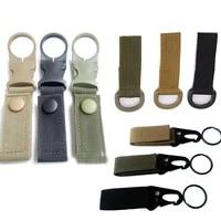 molle webbing attach belt clip outdoor backpack strap clasp quickdraw carabiner camp water bottle hanger tactical holder hook