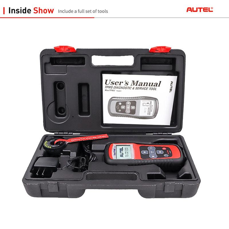 Autel TS401 TPMS Diagnostic Tool Copy ID 315mhz 433mhz Sensor Activation Programming Mx-Sensor MaxiTPMS Tyre Pressure Tester