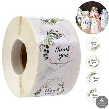 Thank You Stickers Seal Labels Stationery Sticker Gift Box Home Decoration Accessories