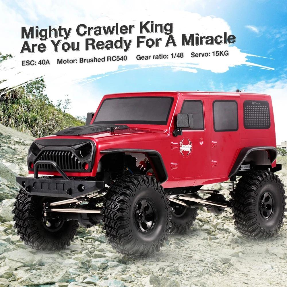 HobbyLane RGT 86100 1/10 2.4G 4WD RC Rock Crawler