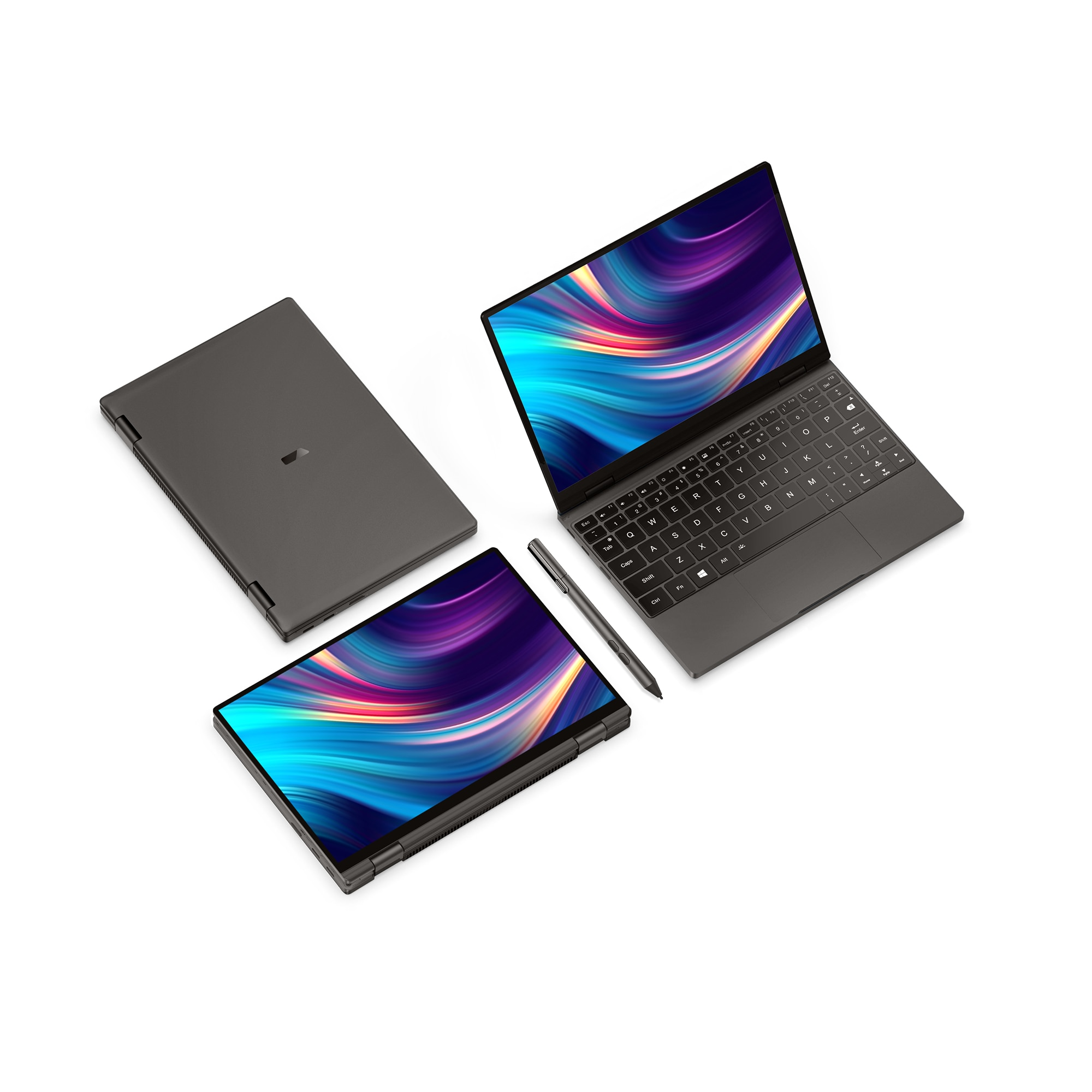 One-Notebook 10.1 Inch Pocket Computer OneMix4 Platinum Netbook i7-1160g7 16G RAM 512GB SSD IPS Touch Screen Windows