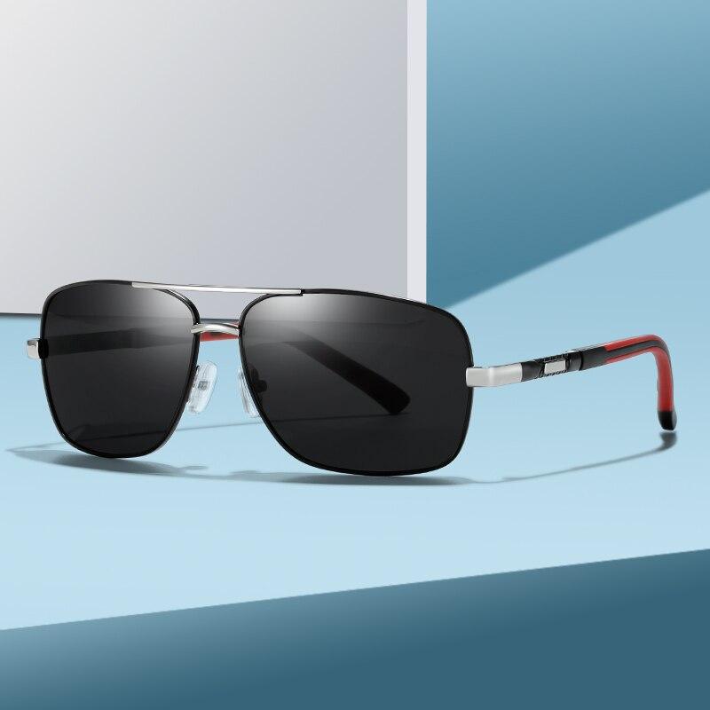 Gafas de sol polarizadas de diseño de marca para hombre, marco de...