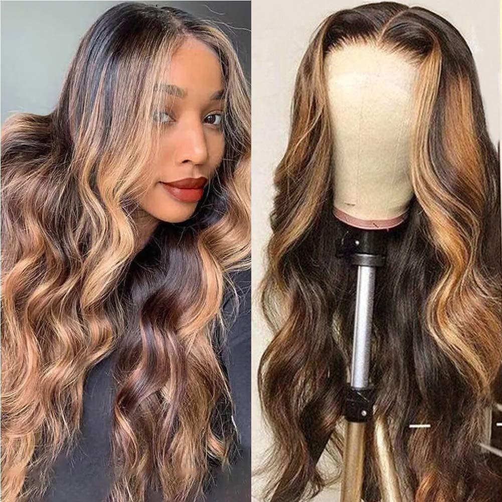 ur beleza 4 27 destaque peruca peruano remy onda do corpo laco frente perucas de