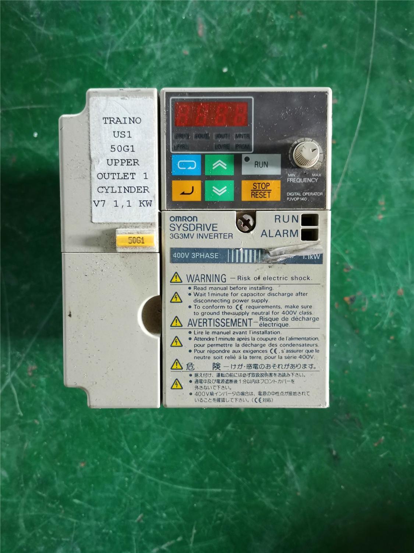 CIMR-V7AZ40P7 0.75KW 380V العاكس ، يستخدم واحد ، مظهر جديد 90% ، اختبار البضائع ، شحن مجاني