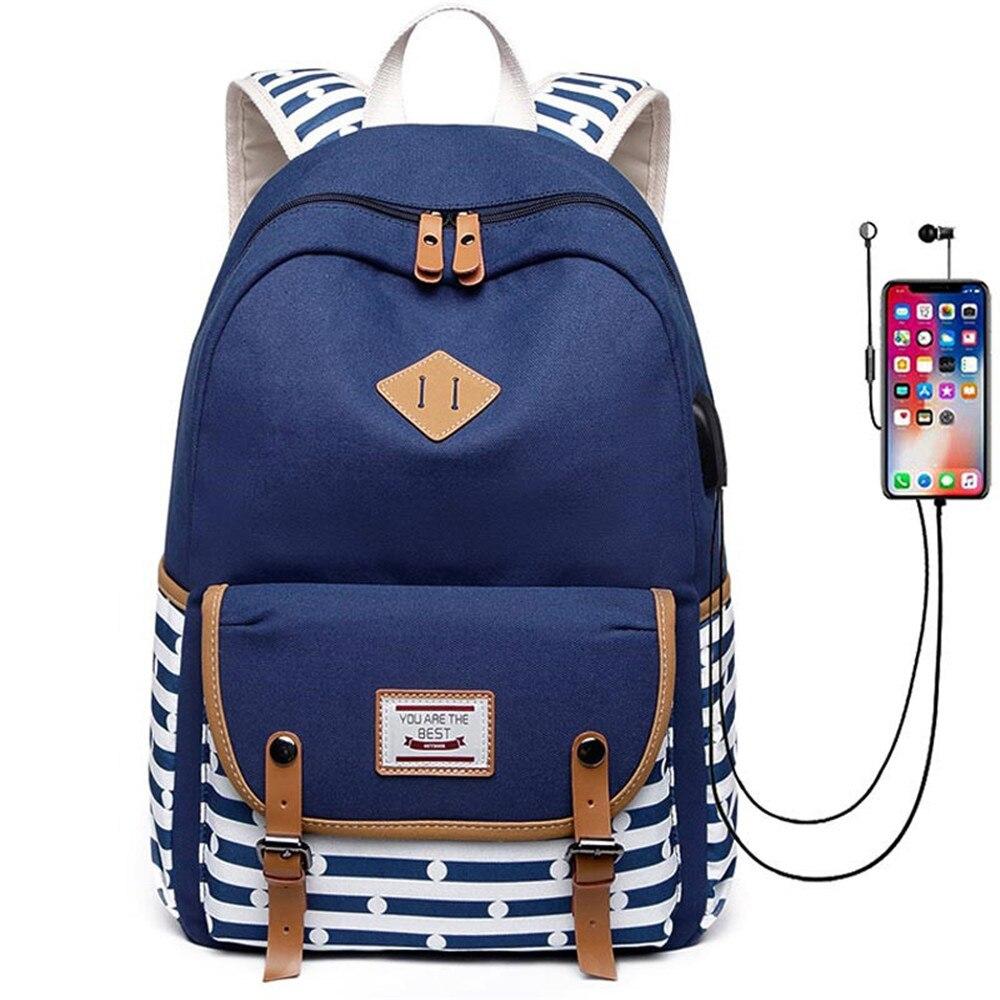 dropship harajuku anime sword art online sao canvas galaxy luminous printing backpack school bags for teenagers mochila feminina New Women Backpack USB Charging Backpacks School Bags For Teenagers Girls Laptop Backpack mochila feminina Students Satchel