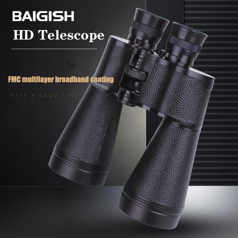 Luxun 15x60 preto hd de alta potência telescópio militar binóculos poderosos ao ar livre turismo caça binóculos