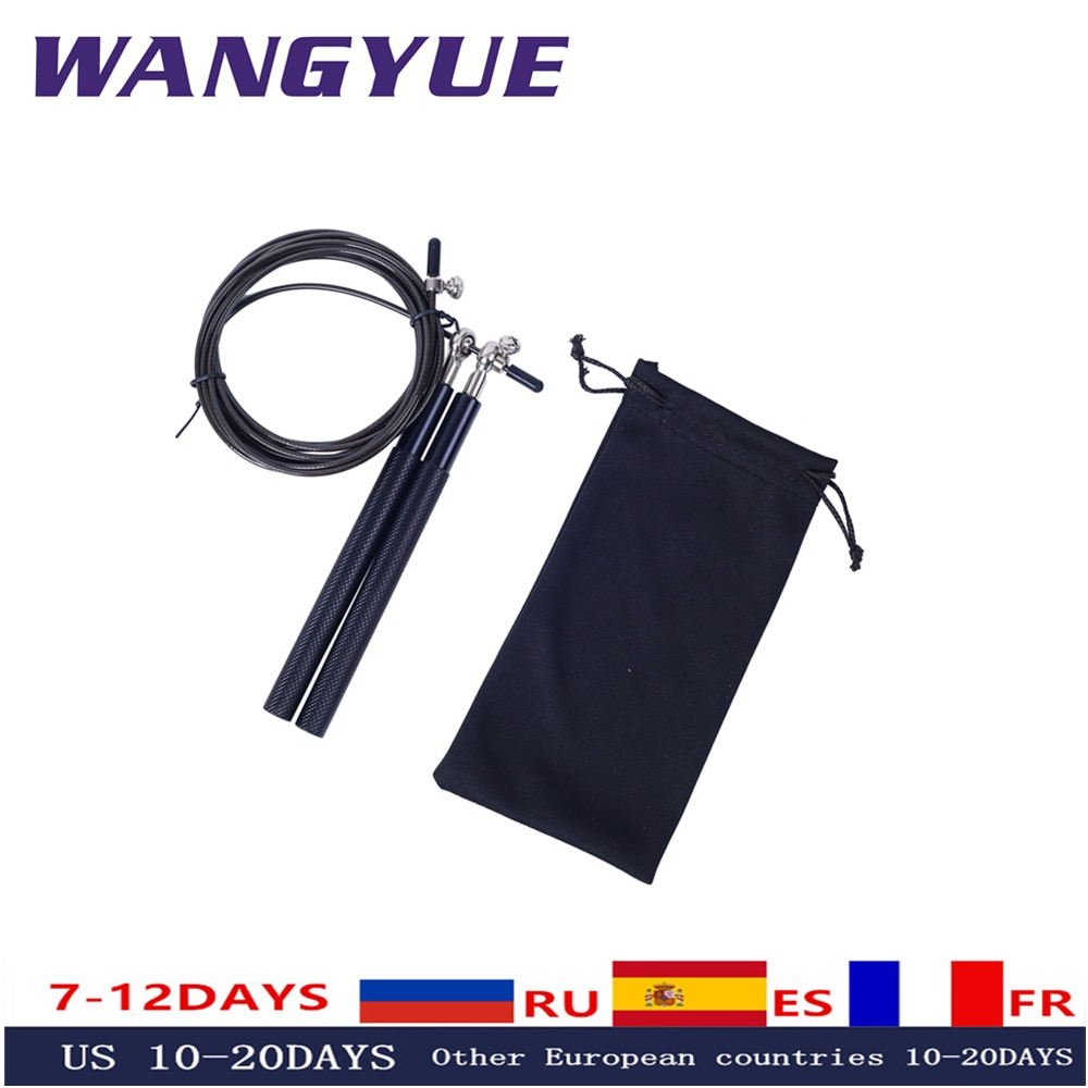 3 Meters Bearing Skipping Rope Double Shaking Game Metal Aluminum Handle Fitness Training Professional Jumping Rope