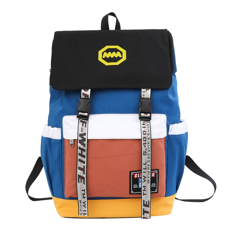 2021 New High School and College Student Backpack Large Capacity Female Bag Nylon Backpack Male