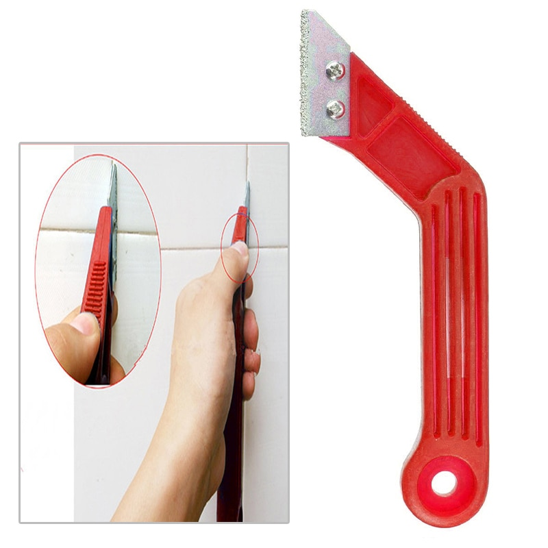 1pcs Portable Tungsten Carbide Edge Blade Grout Saw Masonry Tiling Tile Jointing Pointing Tile Cleaning Remover Hand Tool part electric grout remover tile grout saw rake removal scraper floor wall tile remover for bathroom kitchen caulking grouting tool