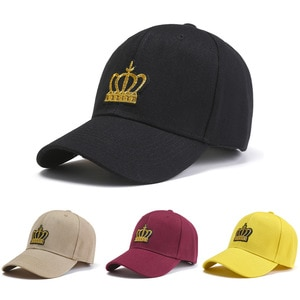 New Spring And Summer Crown Baseball Hat Casual Street Couple Sun Hat Fashion Men And Women Sun Hats