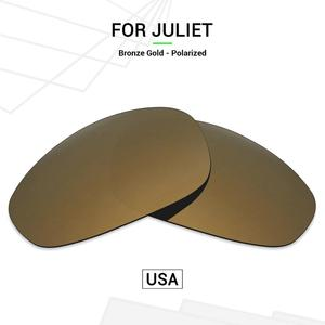Mryok POLARIZED Replacement Lenses (from USA) for Oakley Juliet X-Metal Sunglasses Bronze Gold