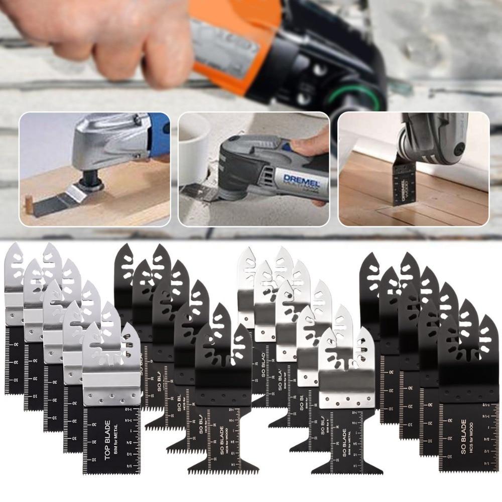 20 шт./компл. Осциллирующий Мультитул, лезвие для пилы Fein Bosch Multimaster Makita Bosch, режущие Деревообрабатывающие инструменты реноватора