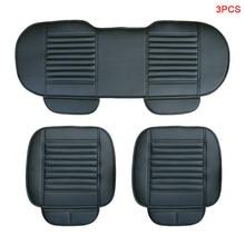 Car Seat Cover 3PCs Auto Accessories for VW Jetta 4 6 Mk5 Mk6 Passat B3 B5 B5.5 B6 B7 B8 Cc 3c 3bg Variant Polo 9n 6r 2018 Sedan