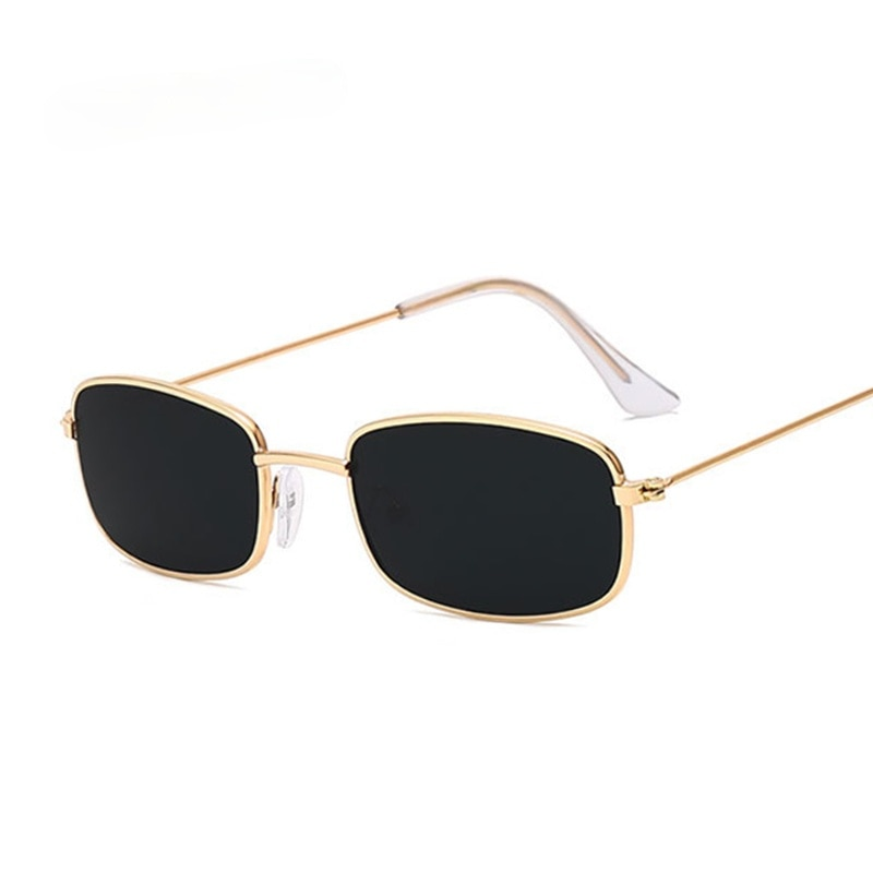 Rectangle Sunglasses Men Women Brand Designer Sun Glasses Male Female Fashion Summer