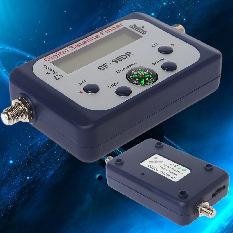 Digital Satellite Finder GSF-9506 Digital Sat-Finder Mini TV Antenne Satellite Signal Meter Tester Mit LCD Display Kompass