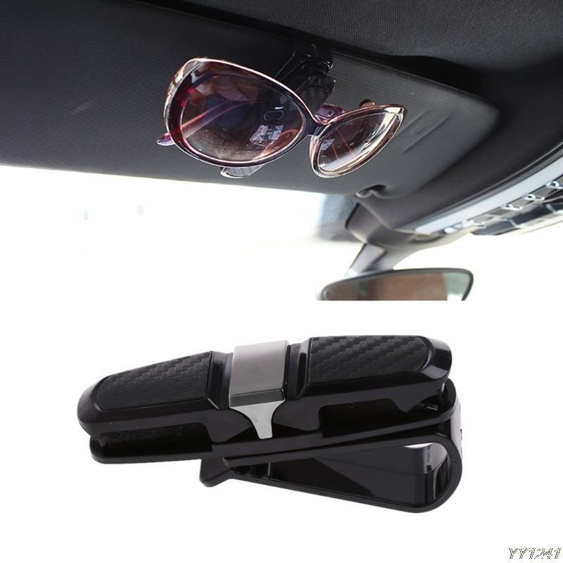 Car Visor Glasses Sunglasses Clip car Accessories for Mercedes W203 BMW E39 E36 E90 F30 F10 Volvo XC60 Audi A4 A6 Accessories