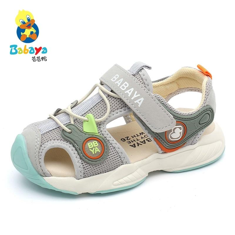 Babaya/детские сандалии; Пляжная обувь для мальчиков; Детская обувь с мягкой подошвой; Новинка лета 2020 года; Пляжные сандалии для девочек