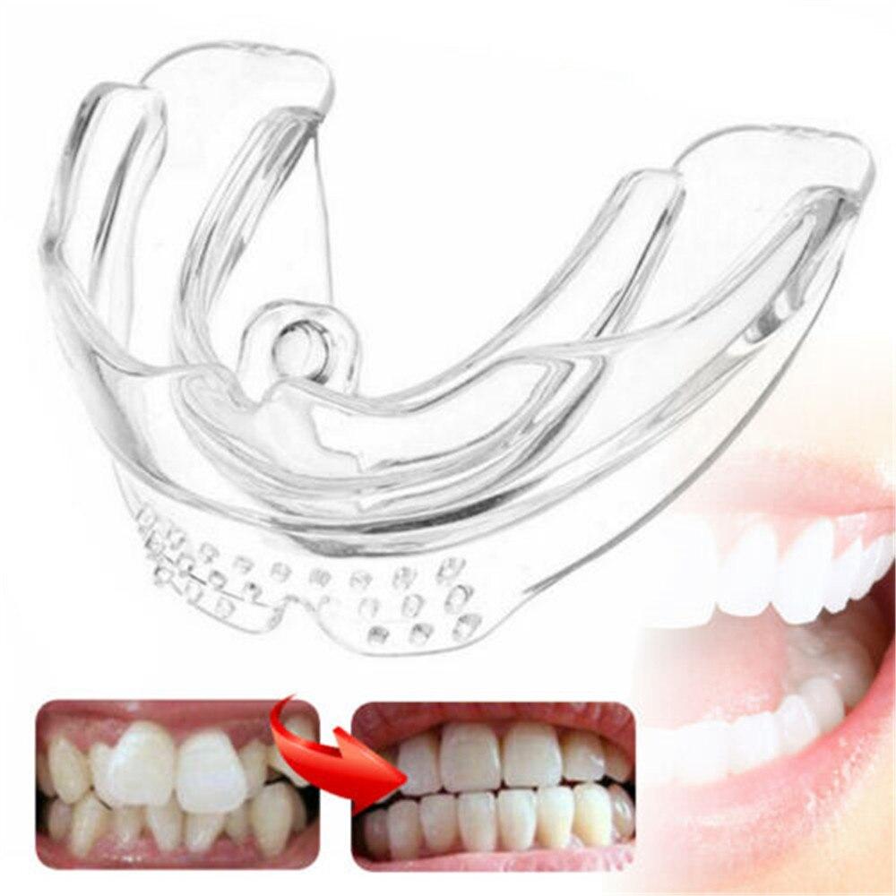 Nueva alineación Dental enderezadora de silicona ortodóntica aparato retenedor Dental bruxismo protector bucal belleza herramientas