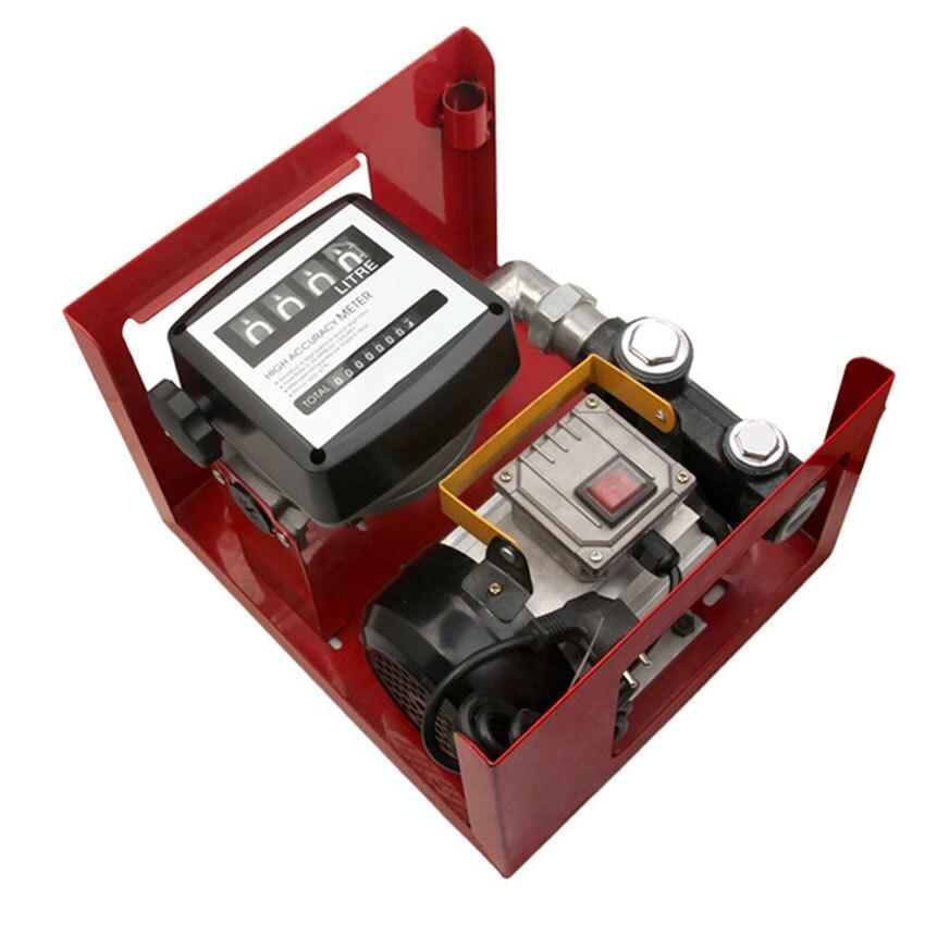 مضخة زيت كهربائية 550 وات ، مضخة شفط زيت احترافية ، مضخة وقود ذاتية التحضير ، 60 لتر/دقيقة ، 12 فولت/24 فولت/220 فولت