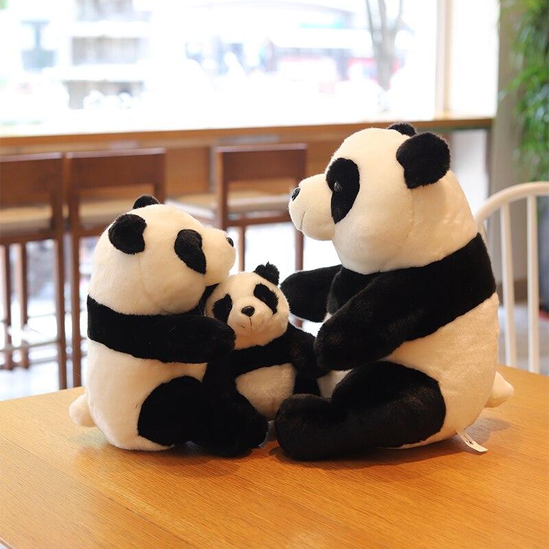 Мягкие игрушки, фигурка панды, мягкие животные, детские игрушки, игрушки для девочек, кавайные плюшевые украшения для дома, детская комната, ...