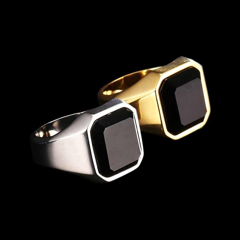 316L Edelstahl ring top qualität Hohe Poliert Signet Feste Biker Ring für männer mode Schmuck Hochzeit geschenk OSR372
