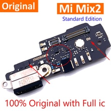 100% Original Mix2 USB Charge Board For Xiaomi Mi MIX 2 Charging Port Dock Plug Connector With Micro