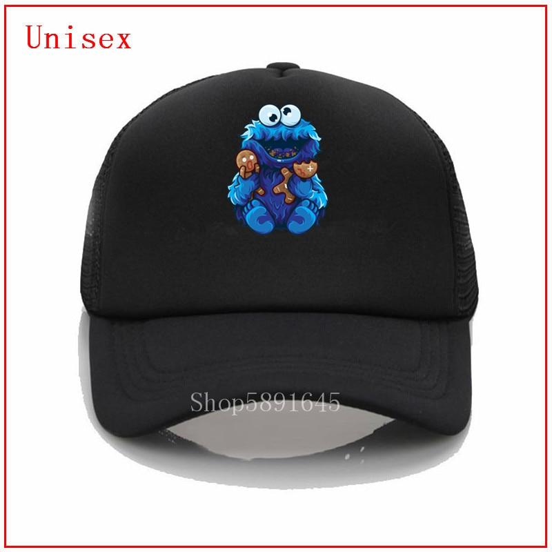 Cookie monster goes insane and eats Gingerbread man summer hats for women summer hats for women fashion Custom Custom Print