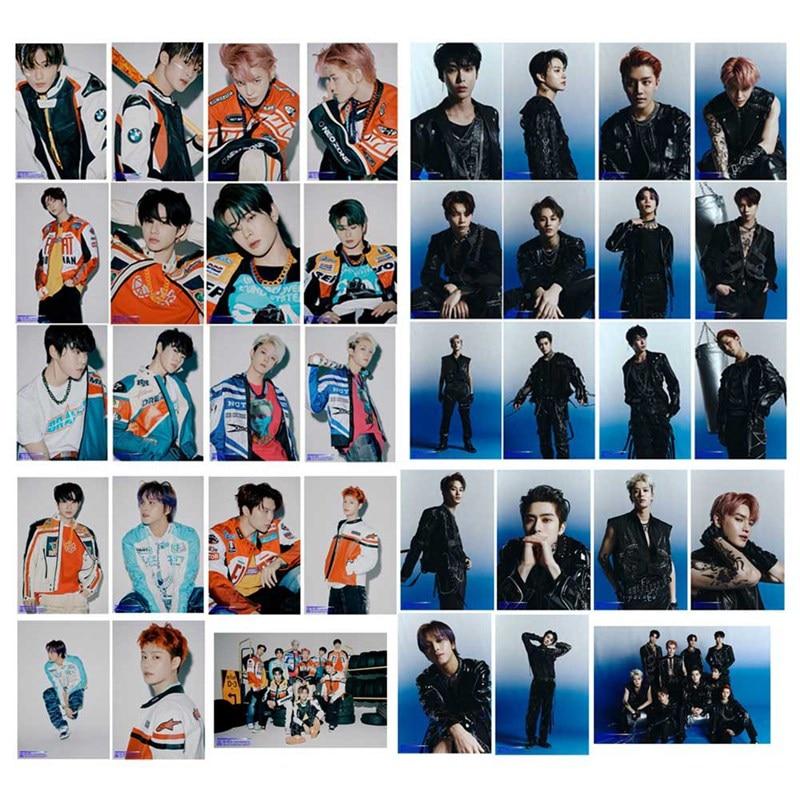 K-POP NCT 127 nuevo álbum Neo Zone las últimas pegatinas redondas de cristal para tarjetas de papel autohechas para sesión fotográfica 19 Uds.