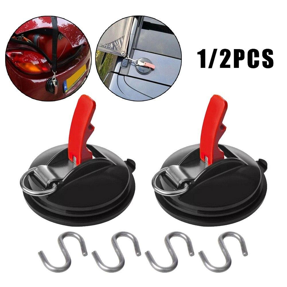 1 шт., Автомобильный крепеж на присоске с 2 крючками для крепления