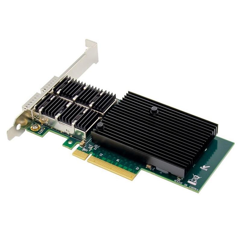 PCI-E 40GbE QSFP + Fiber Server Network Card PCI-E X8 10 Gigabit Fiber Network Card XL710