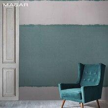 MASAR-papier peint de style industriel   Vieux mur mural, lignes de couleur, canapé de fond de lit et salon, bande simple à la mode
