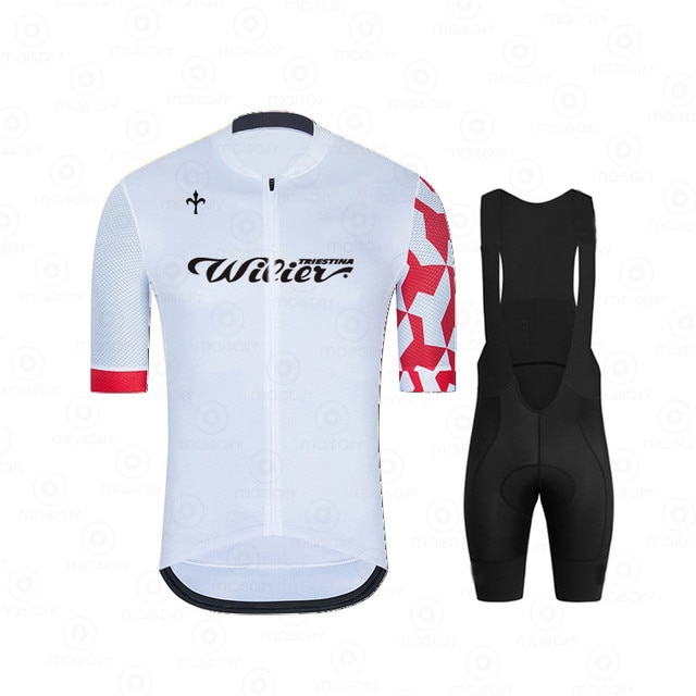 Wilier 2021Cycling Suits Road Bike Wear Clothing Men's Pro Bib Shorts Sets Mtb Bicycle Jersey Clothes Maillot Ciclismo Uniform