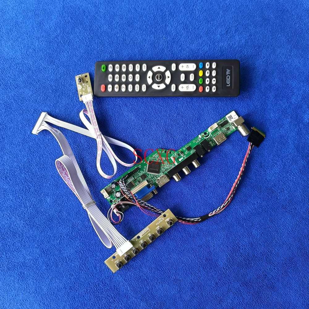 1920*1080 LCD/LED إشارة طقم تناظري HDMI متوافق USB AV VGA 40 دبوس LVDS جهاز تحكم بالشاشة مجلس صالح LP173WF1/N173H6/N173HGE