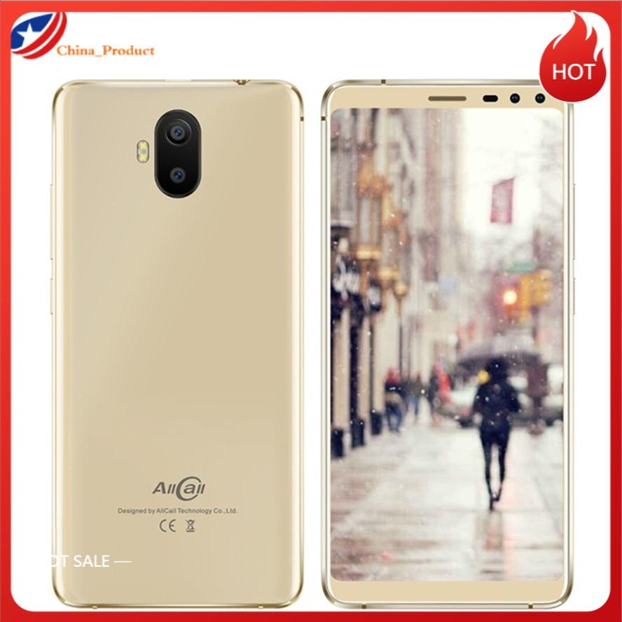 الأصلي الجديد Allcall S1 هاتف ذكي أندرويد 8.1 18:9 5.5 ''MT6580 رباعية النواة الخلوية 2GB + 16GB المزدوج سيم بطاقات WCDMA GSM الهاتف المحمول