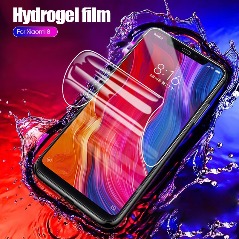 Case Cover For Meizu Pro 7 / 7 plus Screen Protector Explosion-proof Hydrogel Film Not Tempered Glass