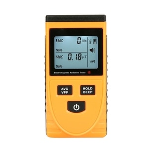 Electromagnetic Radiation Tester Home Appliance Testing Meter Mobile Phone Computer Radiation Digital Detector